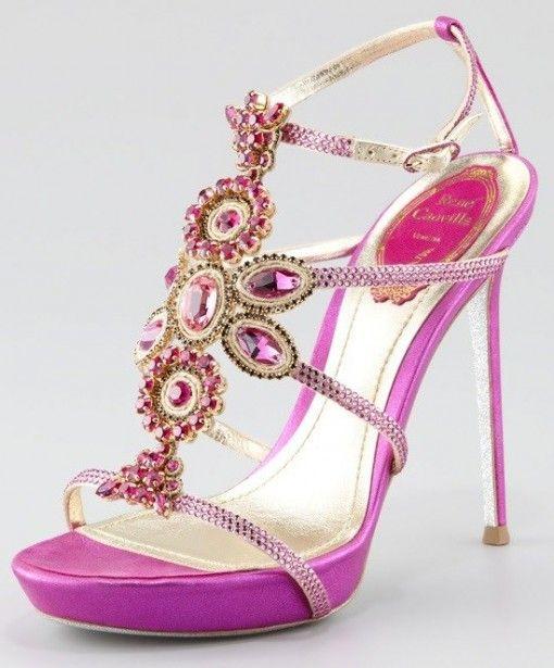 Indian Wedding Shoes 2013 ♥ Bridal Wedding Shoes www.weddingsonline.in