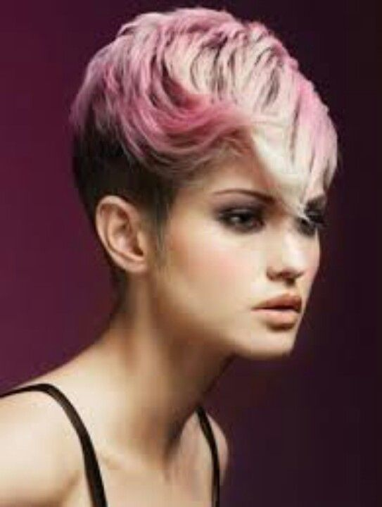 light pink highlights | Pinned by Hairstyling Beautysalon Babylon