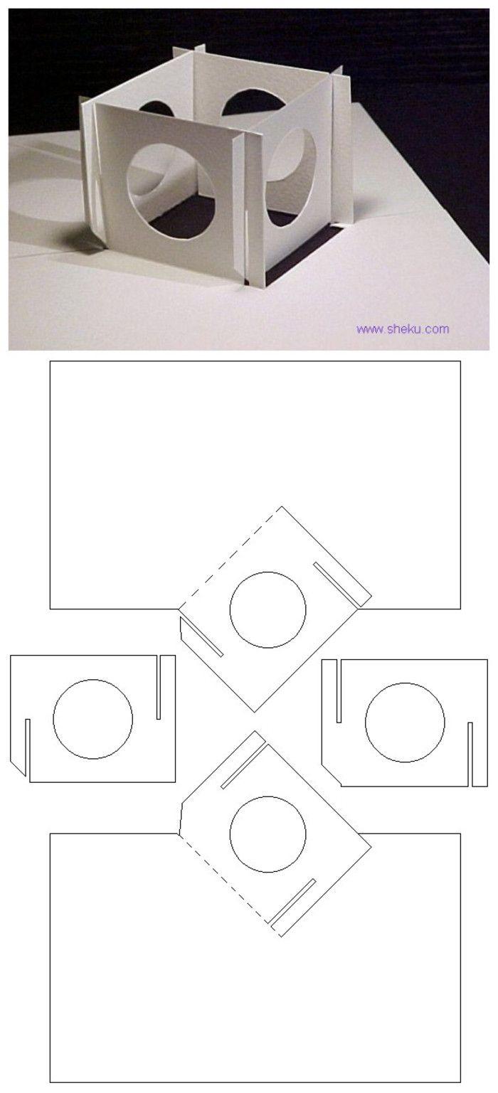 3D paper - cube