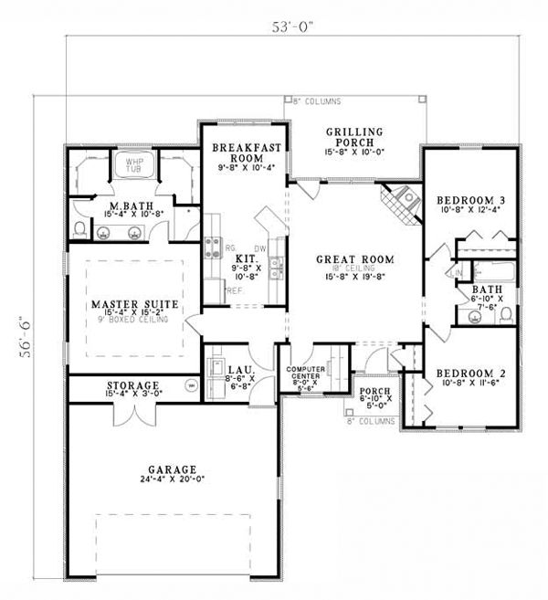 77 best 1500 square foot house plans images on pinterest for 1500 sq ft country house plans