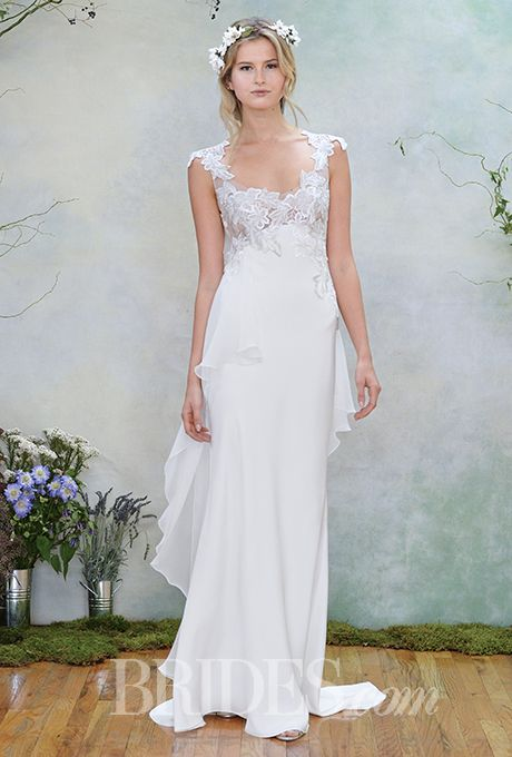 The perfect #bohemian wedding dress from @efillmore | Brides.com
