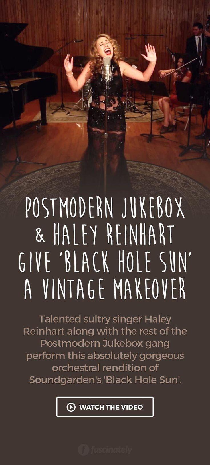 "Postmodern Jukebox & Haley Reinhart Give ""Black Hole Sun"" a Vintage Makeover"