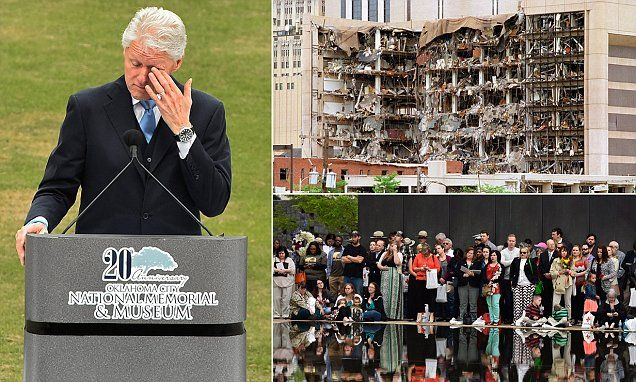Bill Clinton speaks at ceremony 20 years since Oklahoma City bombing