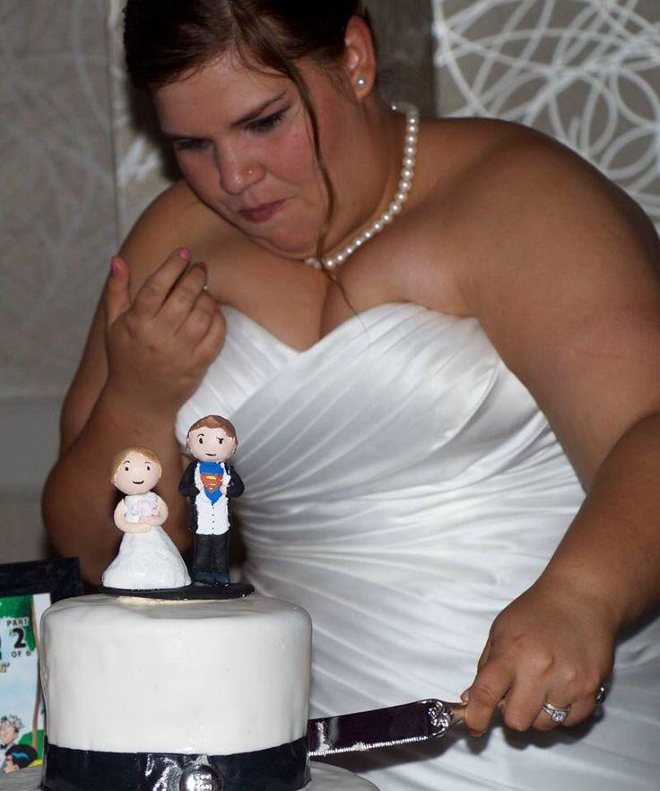 Geek wedding cake, superman