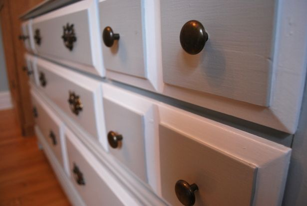 before + after: two-tone dresser ‹ the sweetest digsthe sweetest digs