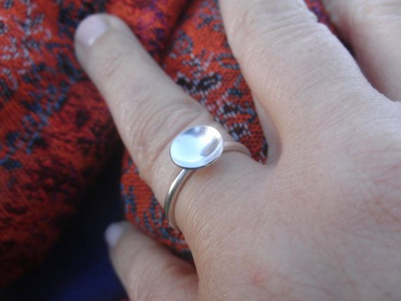 sterling silver ring  statement ring  handmade by AMjewelryStudio