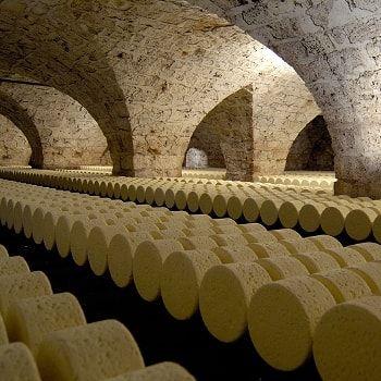 Les caves Roquefort Société, Aveyron