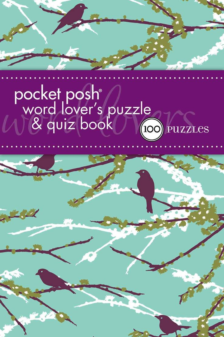 Pocket Posh Word Lover's Puzzle & Quiz Book: 100 Puzzles