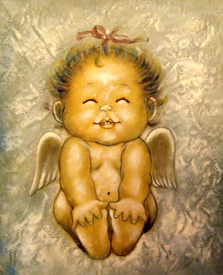 Картинка ангела прикольная