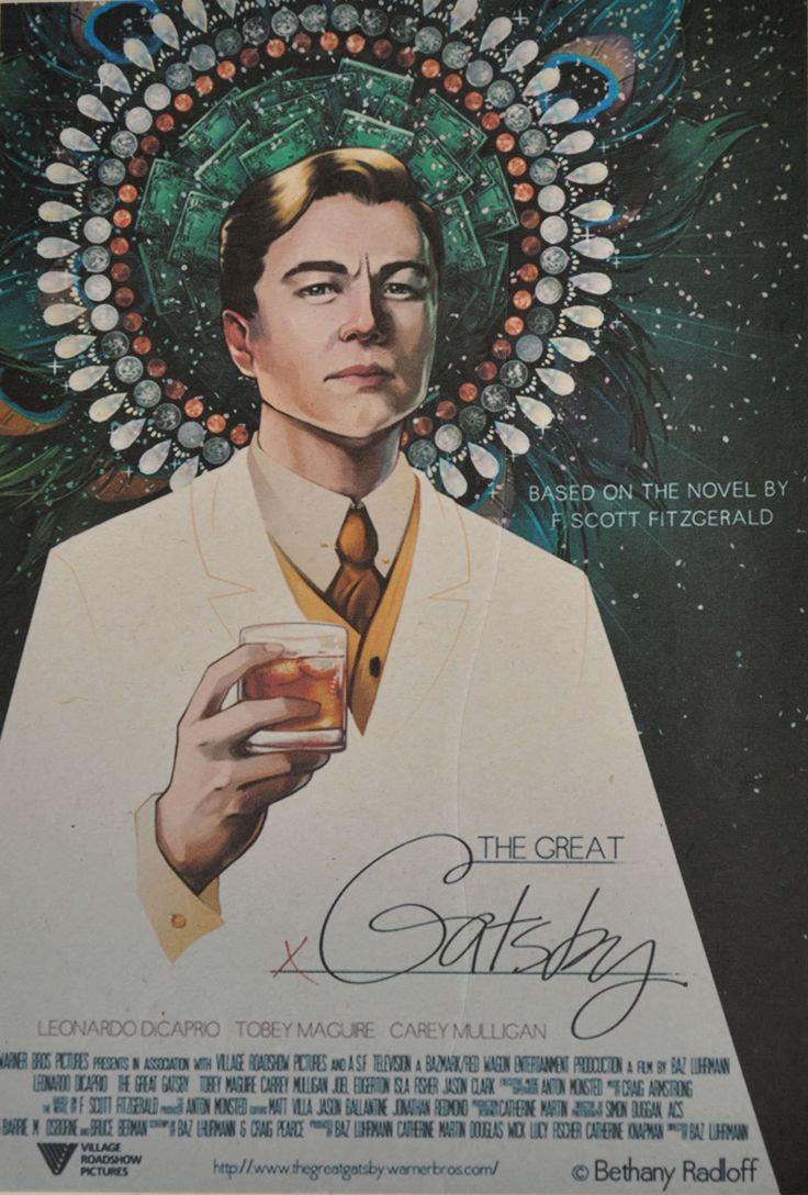 Постер к фильму Великий Гэтсби :: Интернет-магазин дизайнерских постеров