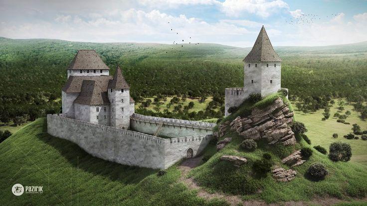 Regéc vára, ahol gyermekkorát töltötte II. Rákóczi Ferenc fejedelem