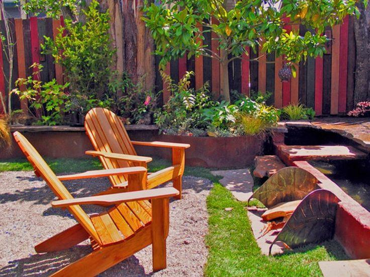 Make a small back yard look bigger small city garden and for How to make a small yard look bigger