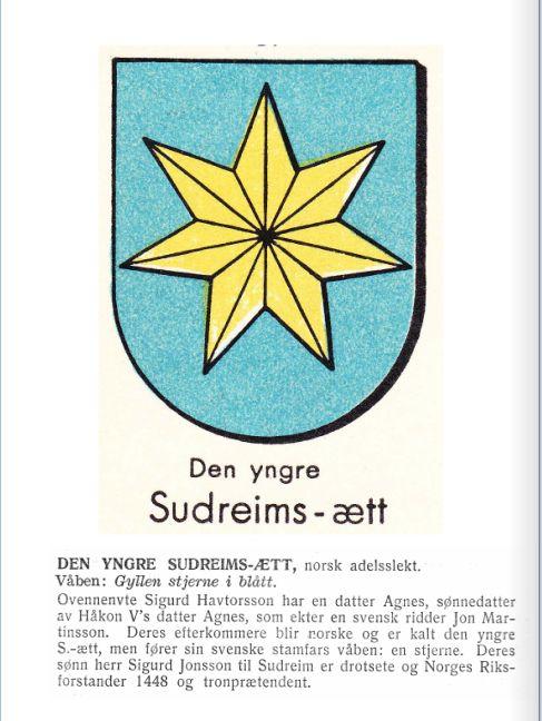 Stjerne av Sudreim