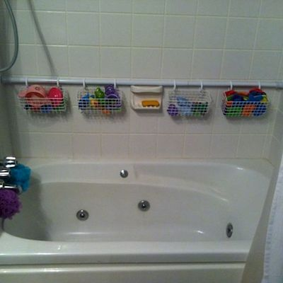 Various ways to use tension rods for home organization