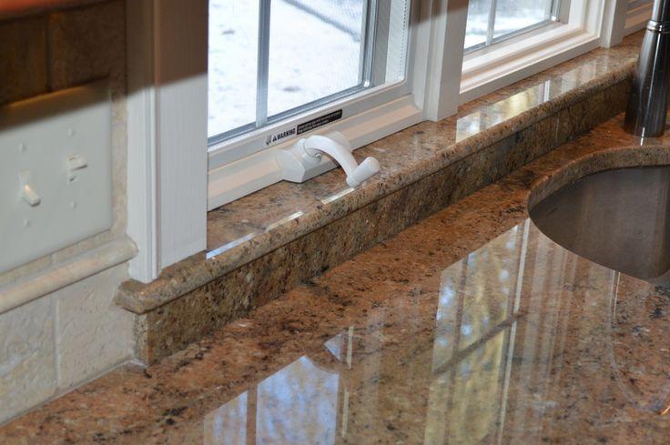 granite window sill  House Renovations  Pinterest  Creative, Search and Decorative windows