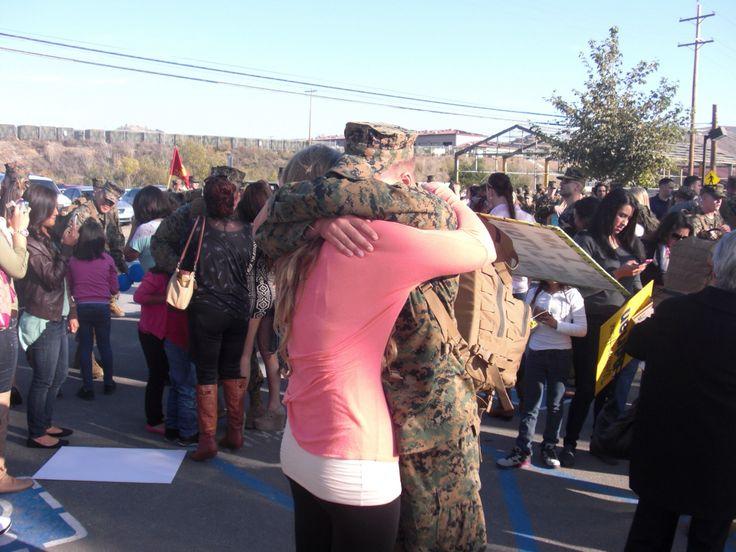 Marine homecoming deployment