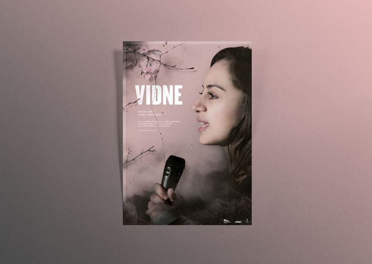 Poster for graduation documentary Vidne (I, Witness) 2017 by Louise Leth  Mariatran.dk