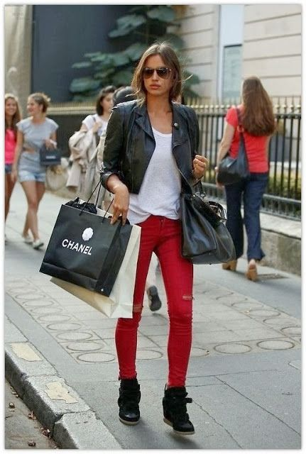 17 Best images about What to Wear with Red Pants on Pinterest ...