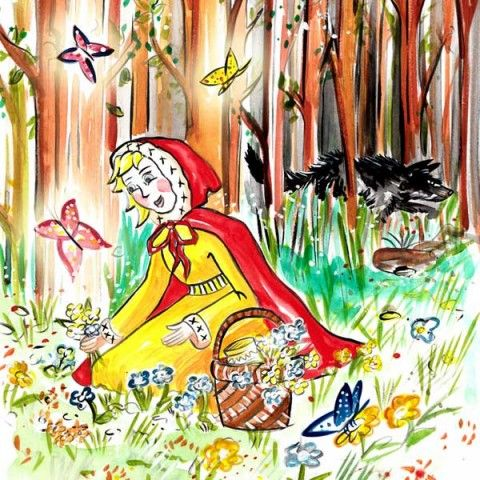 storynory.com eg Little Red Riding Hood in the Woods