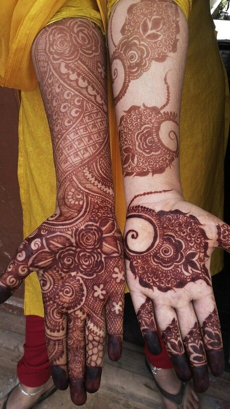 Mashaallah... my mehndi design