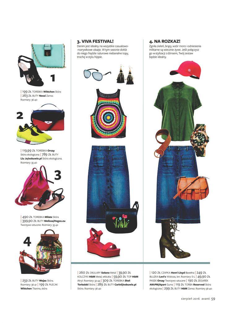 Avanti Magazine #magazine #press #shopping #fashion #sunglasses