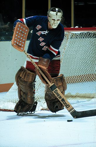 Ed Giacomin, one of the all time greatest puck handling goalies in NHL history http://www.thehockeynews.com/articles/37637-Best-puckhandling-goalies.html