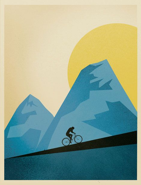 Script & Seal's cycling poster