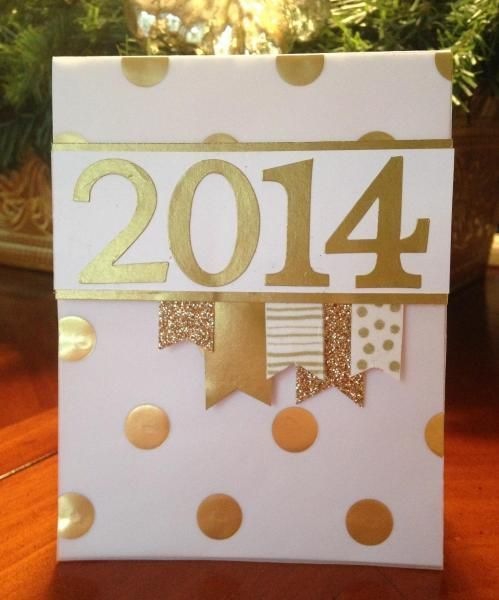 Have a Shiny New Year! by smithr66  Cards and Paper Crafts at Splitcoaststamper