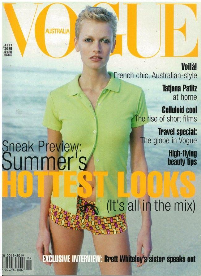 Sarah Murdoch for Vogue Australia June 1996