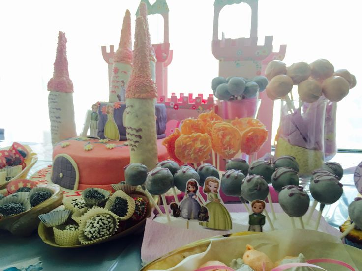 Chef Loyola's cake pops and more.