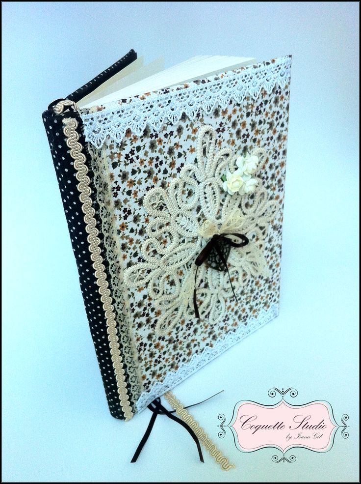 Vintage Journal by Coquette Studio.  coquette_studio@yahoo.com