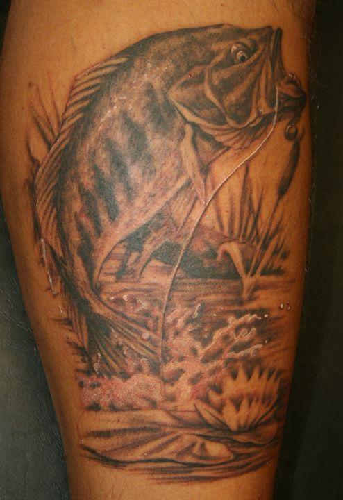 Maori Largemouth Bass Tattoo: 37 Best Largemouth Bass Tattoo Ideas Images On Pinterest