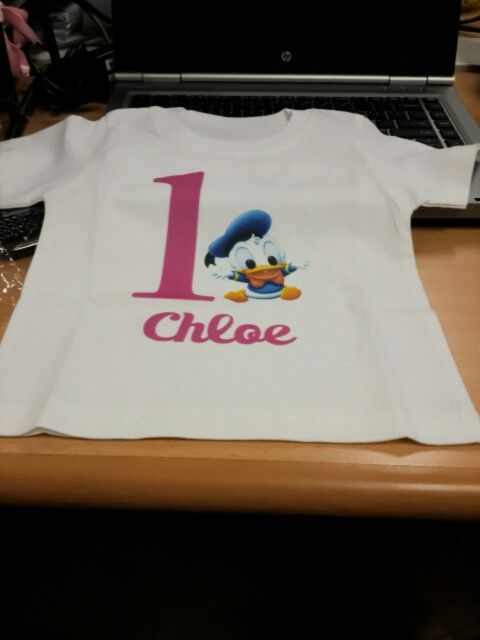 Chloe's shirt for the D day...