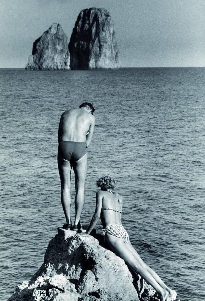 Capri, photo Herbert List, 1951