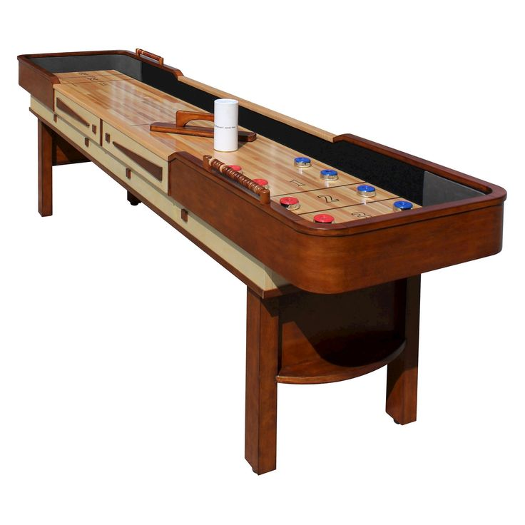 Hathaway Merlot 9 feet Shuffleboard Table