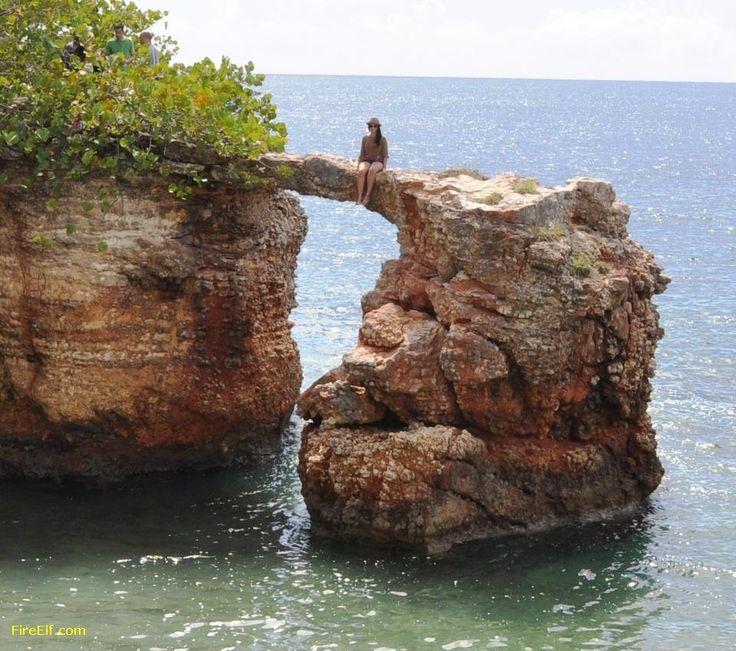 Rock Bridge, Cabo Rojo, Puerto Rico