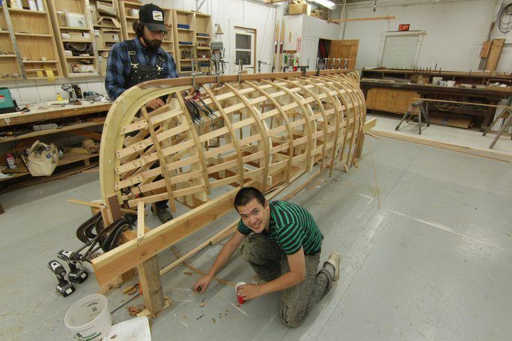 Port Hadlock WA - Northwest School of Wooden Boatbuilding - Traditional Small Craft - double-ended Davis Boat | Flickr: partage de photos!