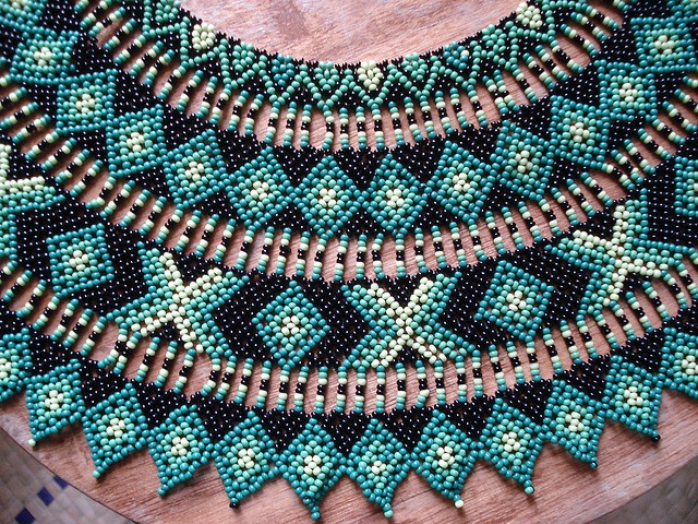 Collar Saraguros Detalle by pacificdaphne, via Flickr