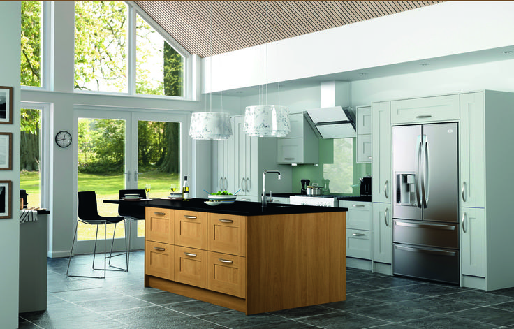 Rockford http://www.academyhome.co.uk/products/kitchens/kitchen-ranges/shaker