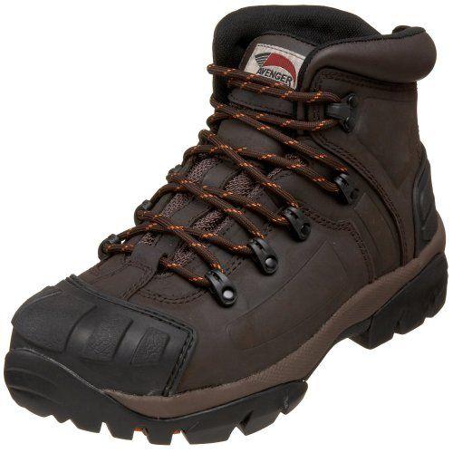 Avenger Safety Footwear Men`s 7250 Steel Toe Boot,Brown,9.5 M US $90.00