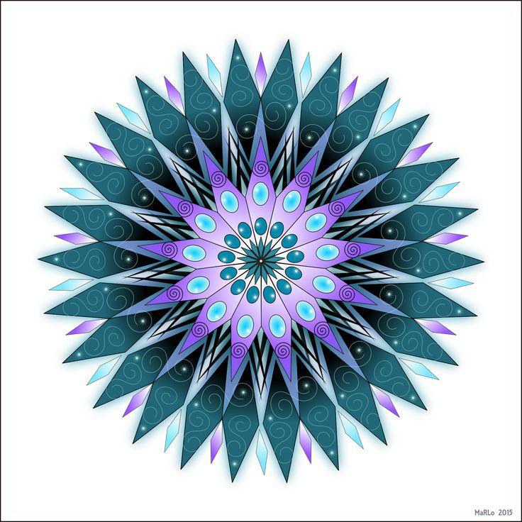 Mandala Coloring Page by fuzzed Σχέδια