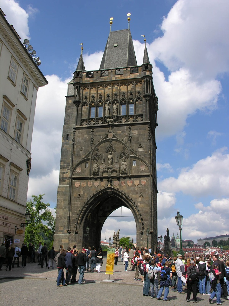 Tour du pont Charles - Prague