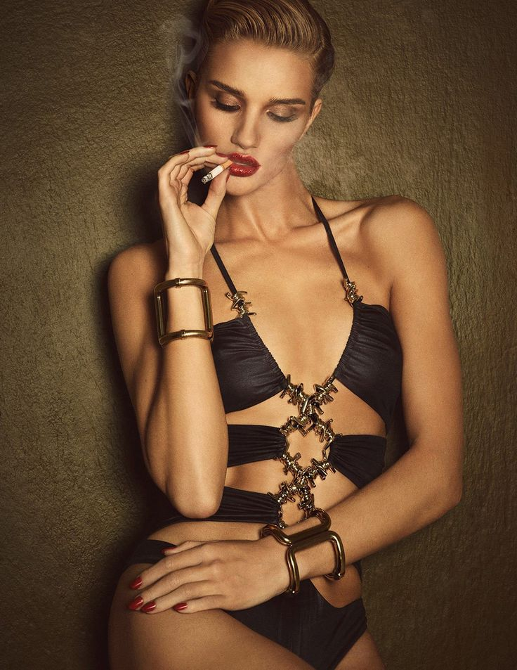 Rosie Huntington-Whiteley Lui Magazine 2015