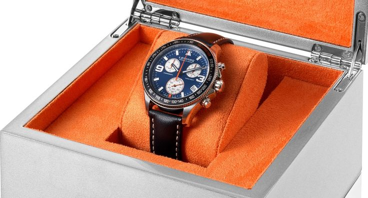 The Monza Chrono will be delivered in a luxerious storage box. Order your own Monza Chrono at www.lemarqwatches.com.