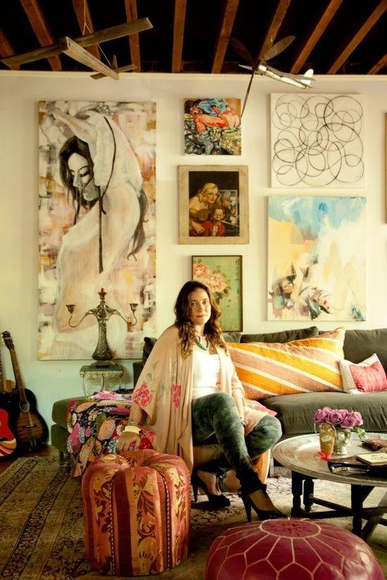 25 beste idee n over wonen in een studio op pinterest - Studio stijl glazen partitie ...