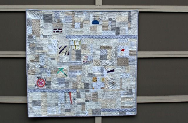 A Quilter's Table: Exchanging Whispers