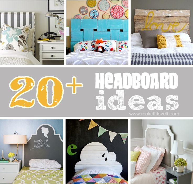 20 Diy Headboard Ideas I 39 M Feeling Inspired Make