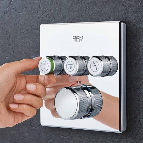 Grohe Smartcontrol Offers Not Just A Choice Of Shower Sprays But