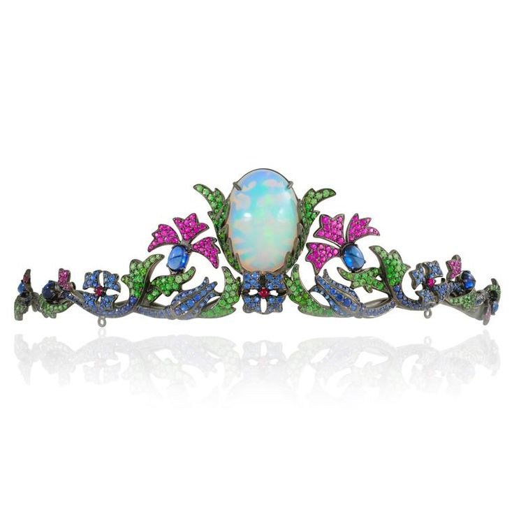 Lydia Courteille Jewellery Rainbow Warrior Collection: 29 Best Tiaras - Opals Images On Pinterest