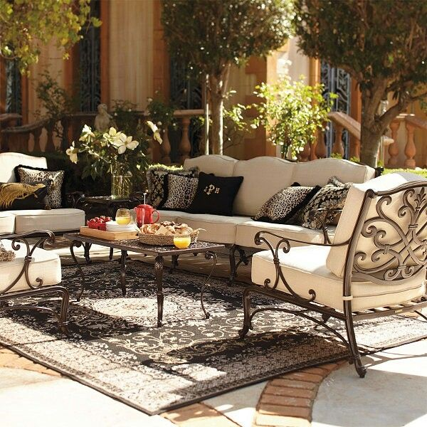 Our Selection Of Luxury Outdoor Furniture From Frontgate Choose A Variety Styleaterials To Find The Perfect Patio For Your